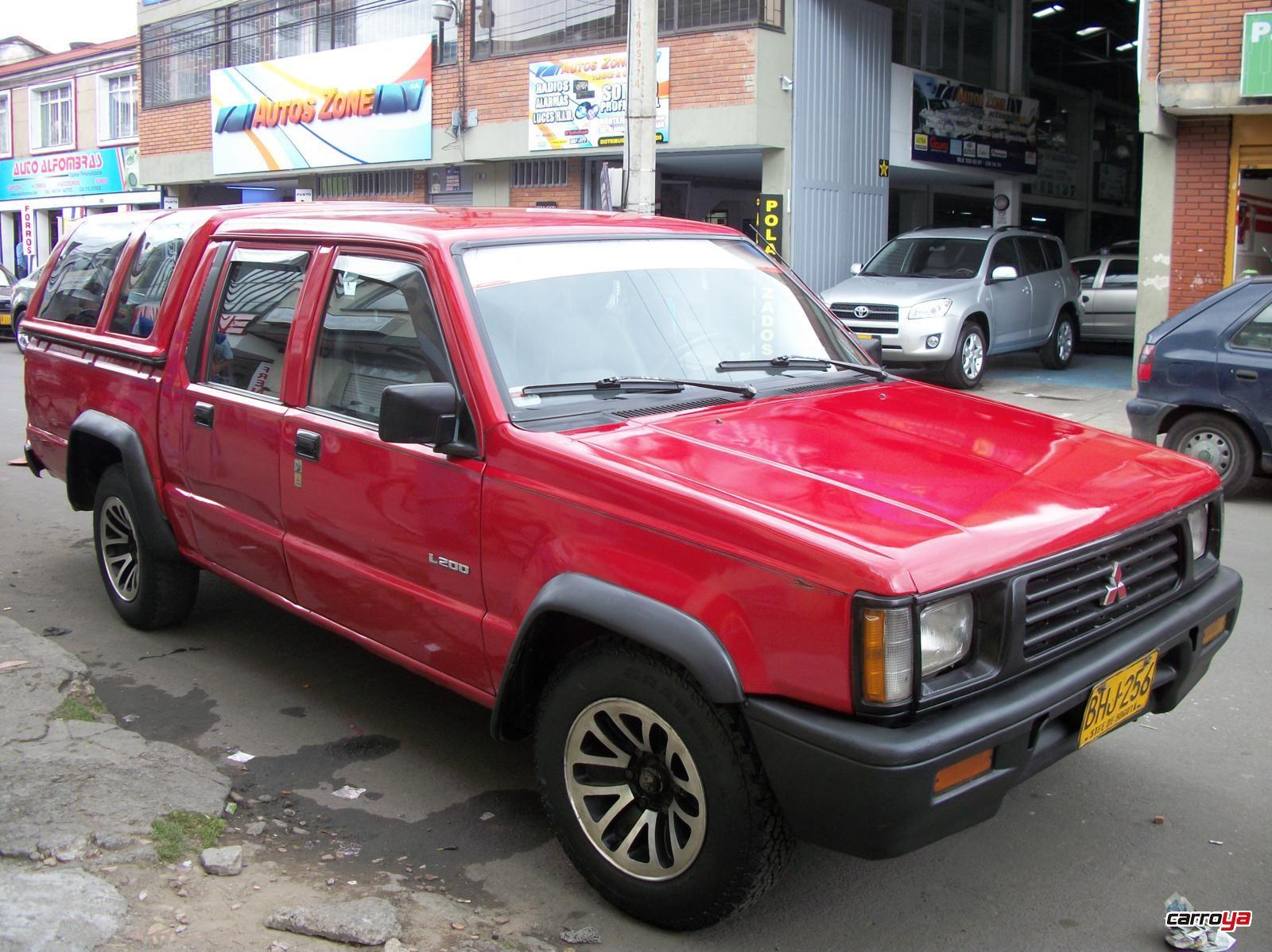 Mitsubishi l200 4x2 doble cabina 1997 usado en bogota 1454654 - Mitsubishi l200 doble cabina ...