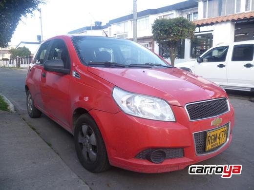Chevrolet Aveo Emotion 1.6 4 Puertas Mecnico Aire Acondicionado 2011