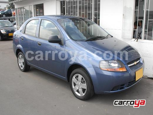 Chevrolet Aveo 1.6 4 Puertas  Aire Acondicionado 2010