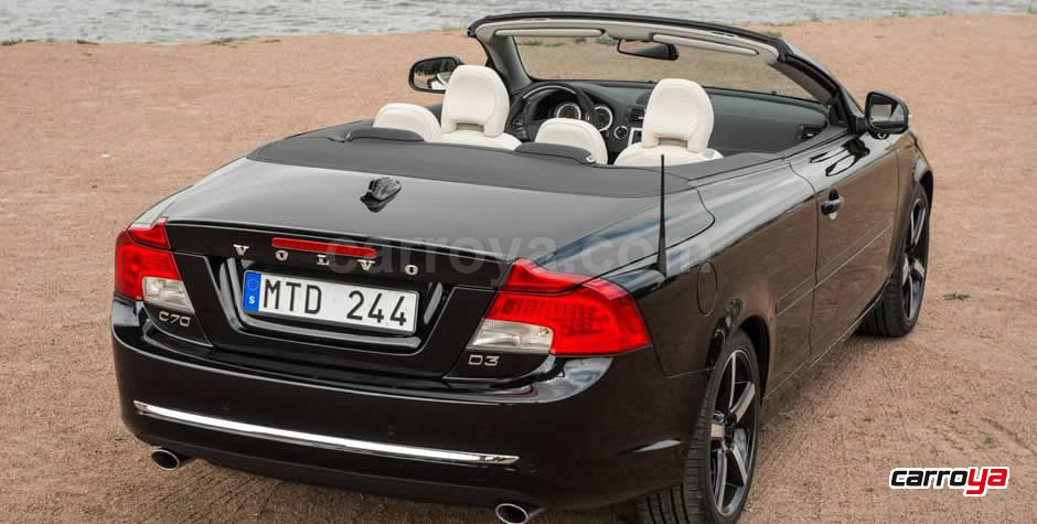 volvo c70 cabrio automatico modelo 2014 precio y ficha t cnica. Black Bedroom Furniture Sets. Home Design Ideas