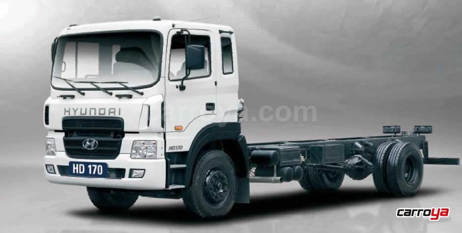 Hyundai HD 170 Chasis largo camion 2014 - Precio en Colombia 1b377980f95