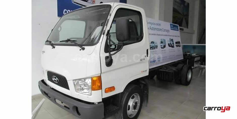 Hyundai HD 65 Chasis cabinado 6.5 toneladas 2014 - Precio en Colombia b8fa6d14296
